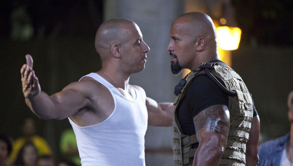 Vin Diesel y Dwayne Johnson ya no son BFF