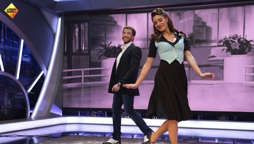 Pilar Rubio se convierte en toda una bailarina de claqué