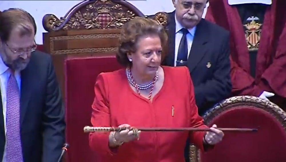 Frame 54.873694 de: Rita Barberá, la 'eterna' alcaldesa de Valencia con un final empañado por la corrupción