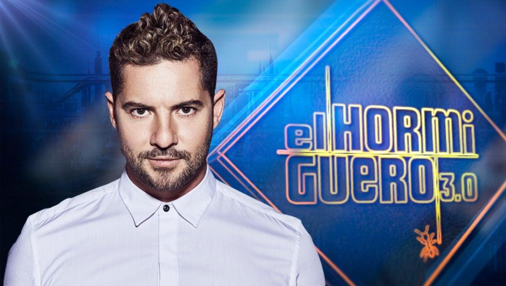 El cantante David Bisbal nos deleitará con su música en 'El Hormiguero 3.0'