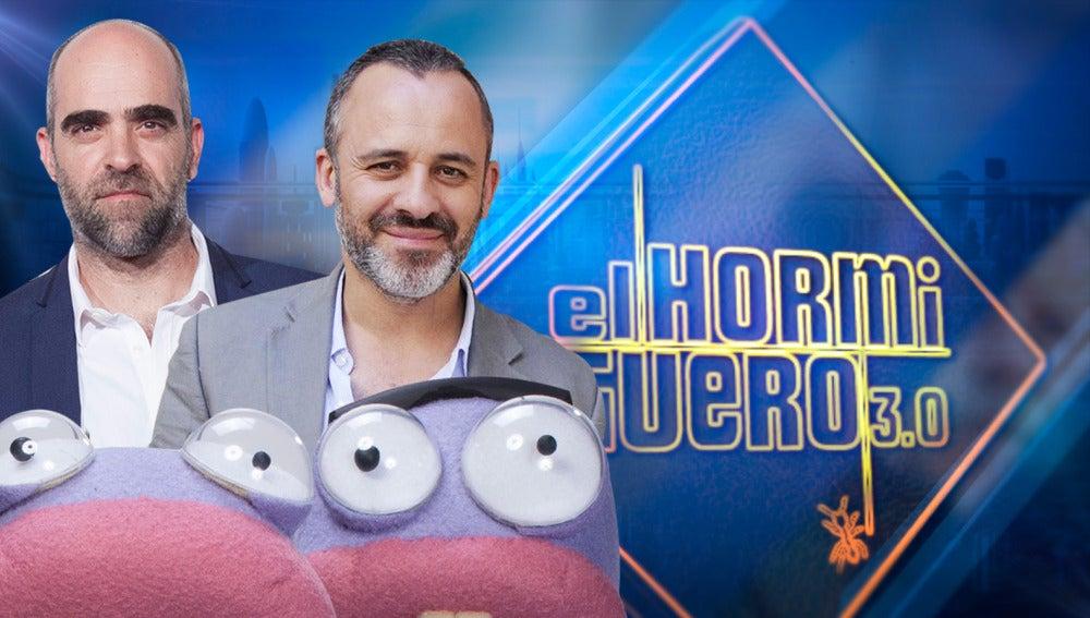 Los actores Luis Tosar y Javier Gutiérrez visitarán 'El Hormiguero 3.0' el lunes