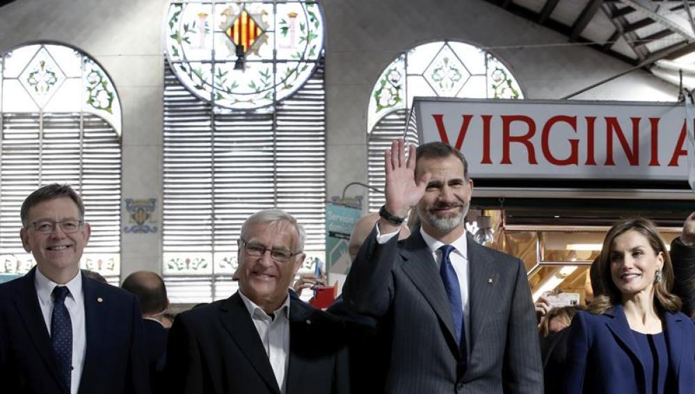 Felipe VI en Valencia