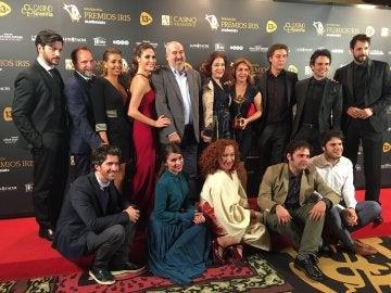 El elenco de la serie El Secreto de Puente Viejo