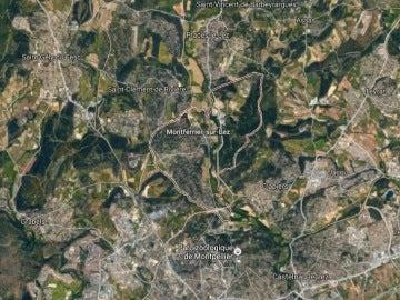 Región francesa de Montferrier-sur-Lez, donde ha tenido lugar el ataque