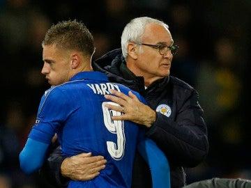 Ranieri y Vardy