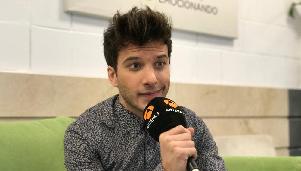 """Blas Cantó: """"Me encantaría cantar algo de Disney"""""""