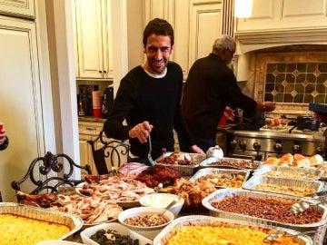 Raúl, en el Día de Acción de Gracias