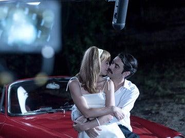 Marta Hazas y Javier Rey graban su última secuencia de la serie