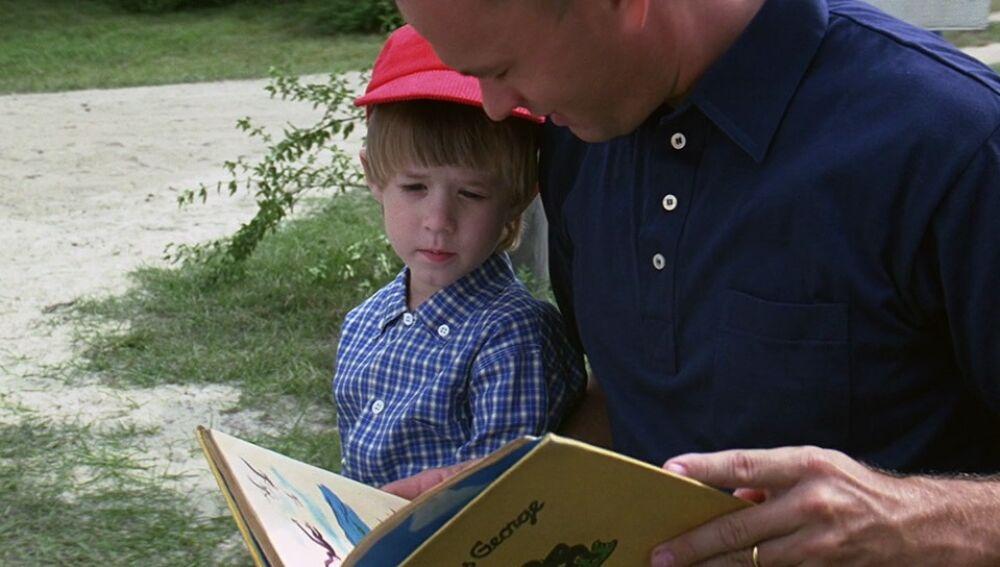 Forrest Gump junto a su hijo