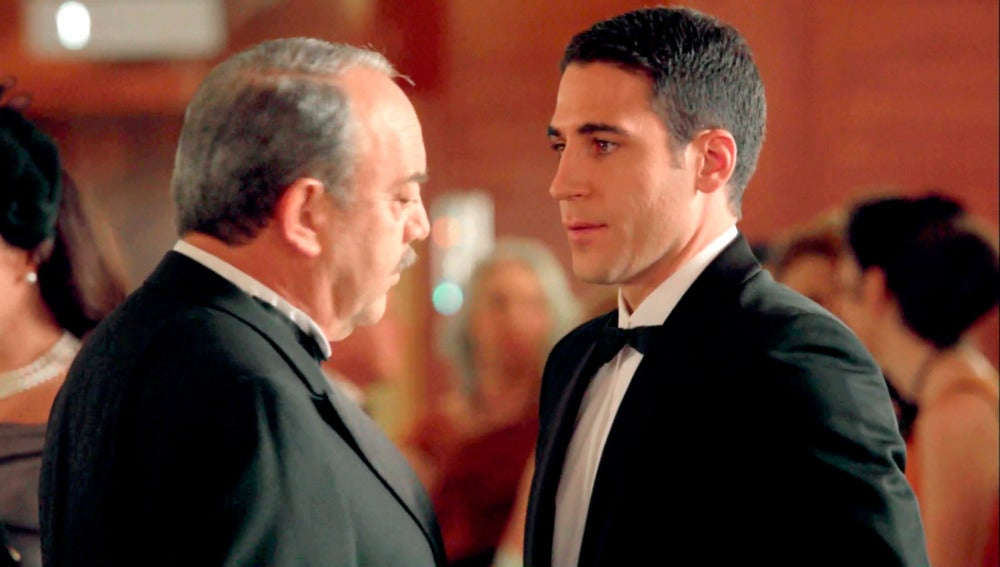 La primera aparición de Miguel Ángel Silvestre en 'Velvet' como Alberto Márquez