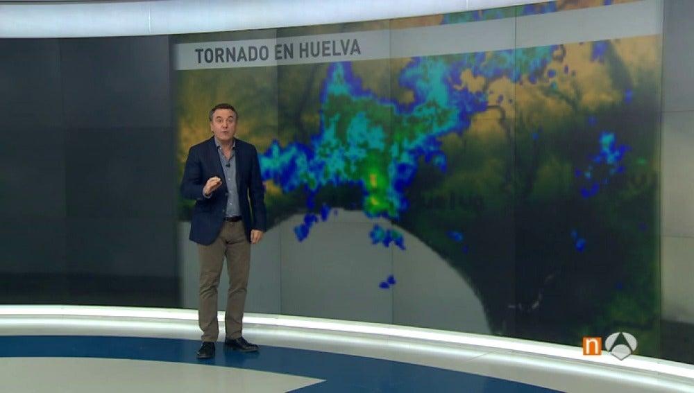 Antena 3 tv es normal que se produzcan tornados en espa a como los ocurridos en huelva o - Tornados en espana ...