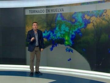 Roberto Brasero explica el por qué de los tornados
