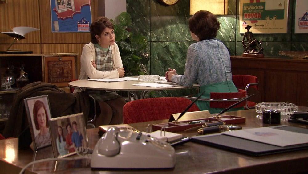 Marta no quiere que Nuria lleve el caso