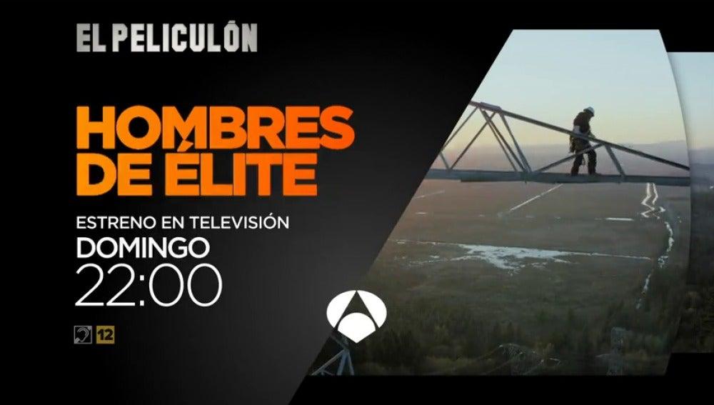 Frame 8.408313 de: Antena 3 estrena 'Hombres de Élite' en El Peliculón