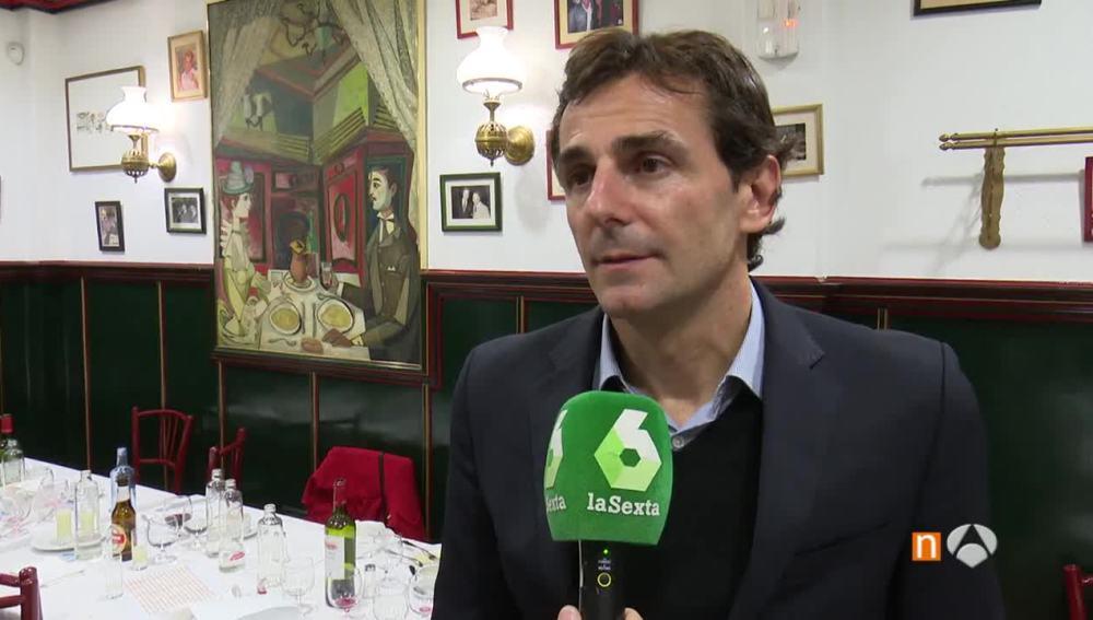 Pedro Martínez de la Rosa atiende a laSexta