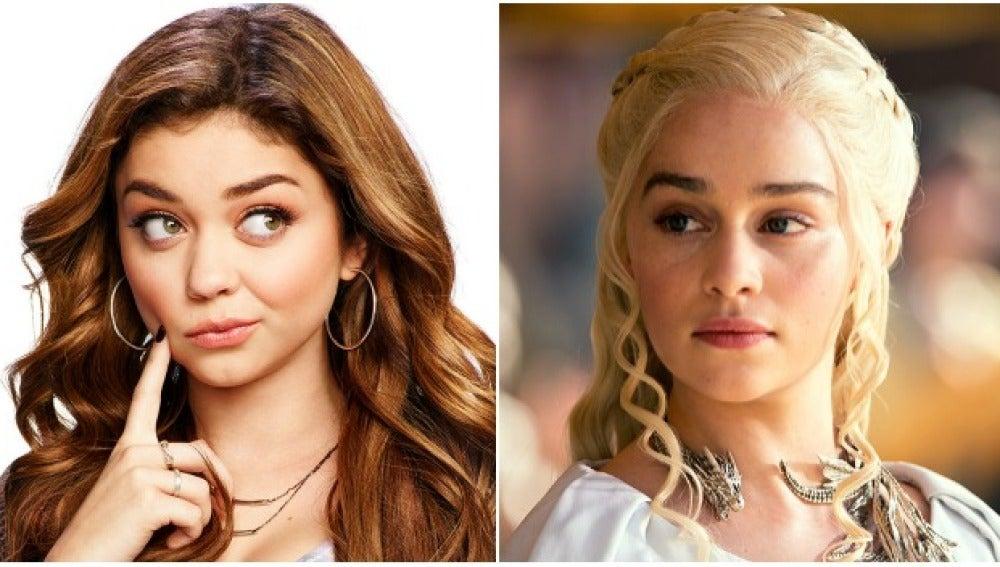 Sarah Hyland de 'Modern Family' la nueva Daenerys Targaryen