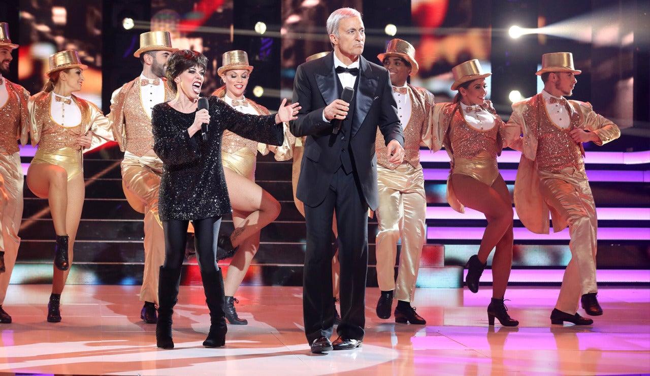 Beatriz Luengo y Pablo Puyol imita a Liza Minnelli y Frank Sinatra