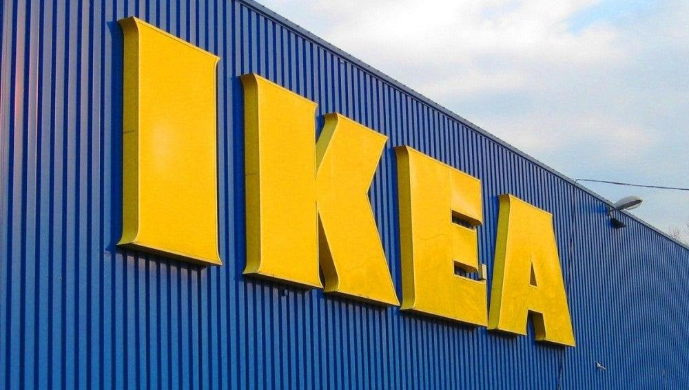 Fachada de una tienda de Ikea