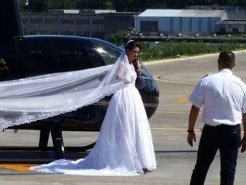 Rosemere do Nascimento Silva, la novia que ha muerto en un accidente de helicóptero de camino al altar