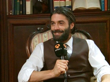 Alejandro Muñoz sobre su personaje en 'El secreto de Puente Viejo'