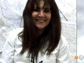 La boliviana Celia Castedo Monasterio