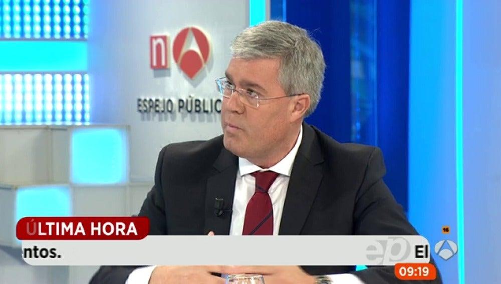 El secretario de Estado de Hacienda en Espejo Público
