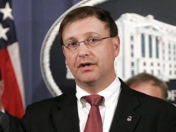 El administrador de la DEA, Chuck Rosenberg