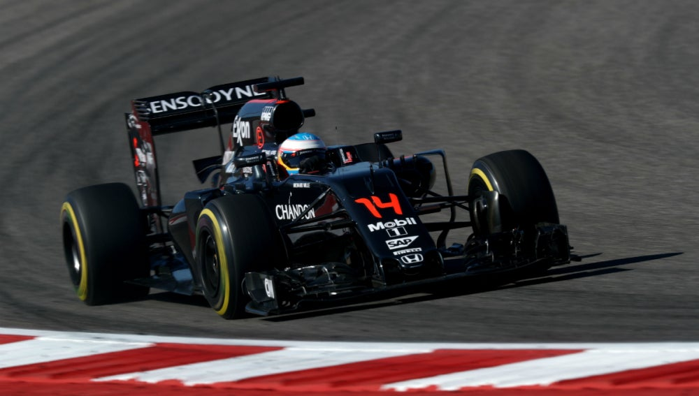 Alonso, sobre su McLaren-Honda