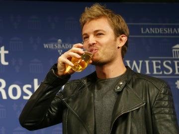 Rosberg, disfrutando de la vida