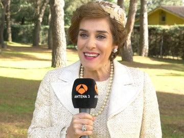 """Anabel Alonso: """"Voy a disfrutar de esta nueva vida de Benigna"""""""