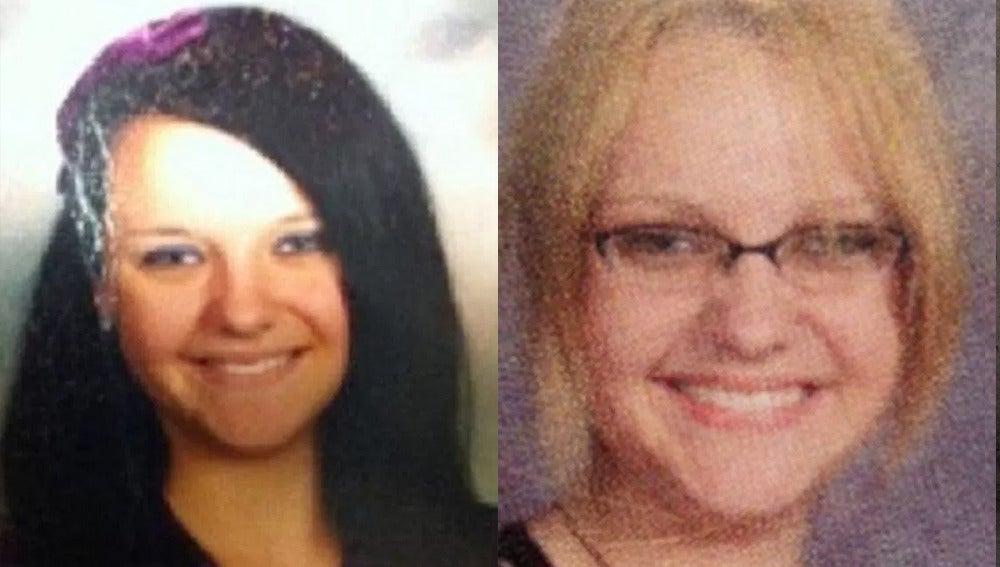 Rachel Natacha Owens en 2011 (izquierda) y en 2016 (derecha)