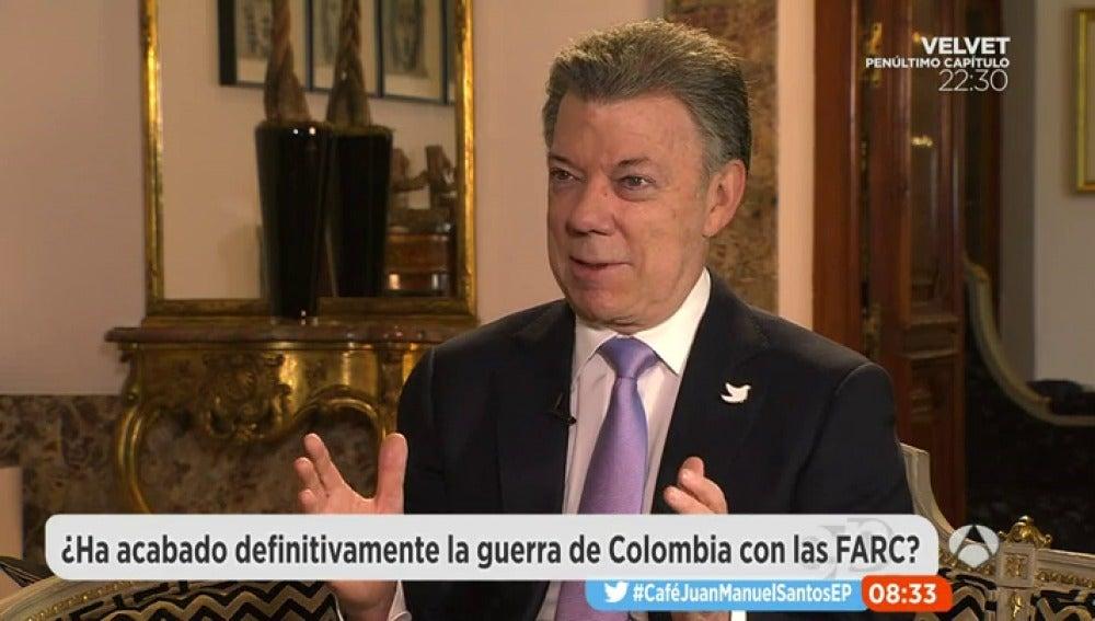 """Frame 174.949459 de: Juan Manuel Santos: """"Aprendí la lección: no hacer plebiscitos o referéndum cuando no es necesario"""""""