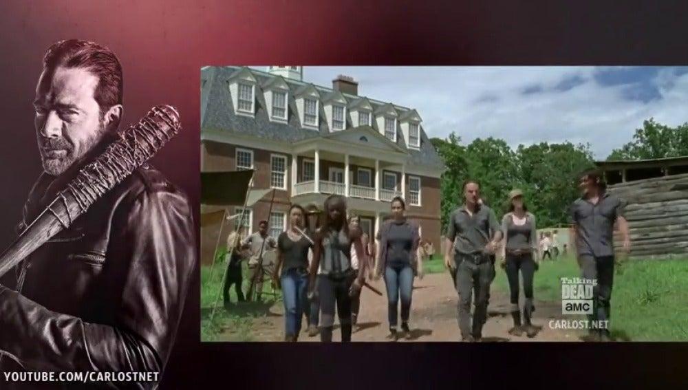 Frame 20.703429 de: 'The Walking Dead' volverá con una rebelión contra Los Salvadores