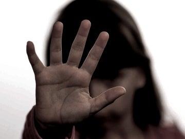 Recreación de una escena de abusos infantiles