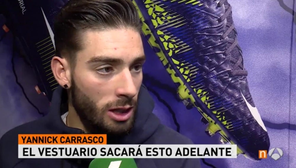 Yannick Carrasco, jugador del Atlético de Madrid