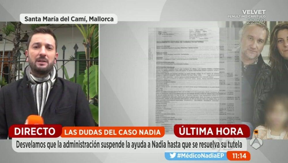 Frame 28.525593 de: La Consellería de Baleares retira la ayuda económica a Nadia de manera cautelar