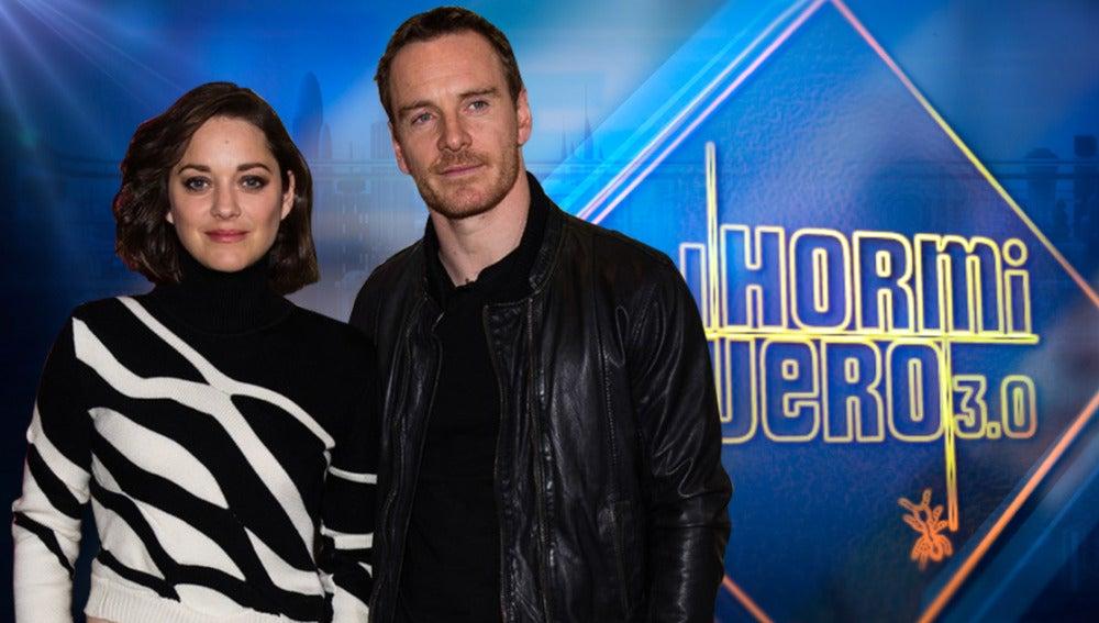 Las estrellas de Hollywood Michael Fassbender y Marion Cotillard visitarán el martes 'El Hormiguero 3.0'
