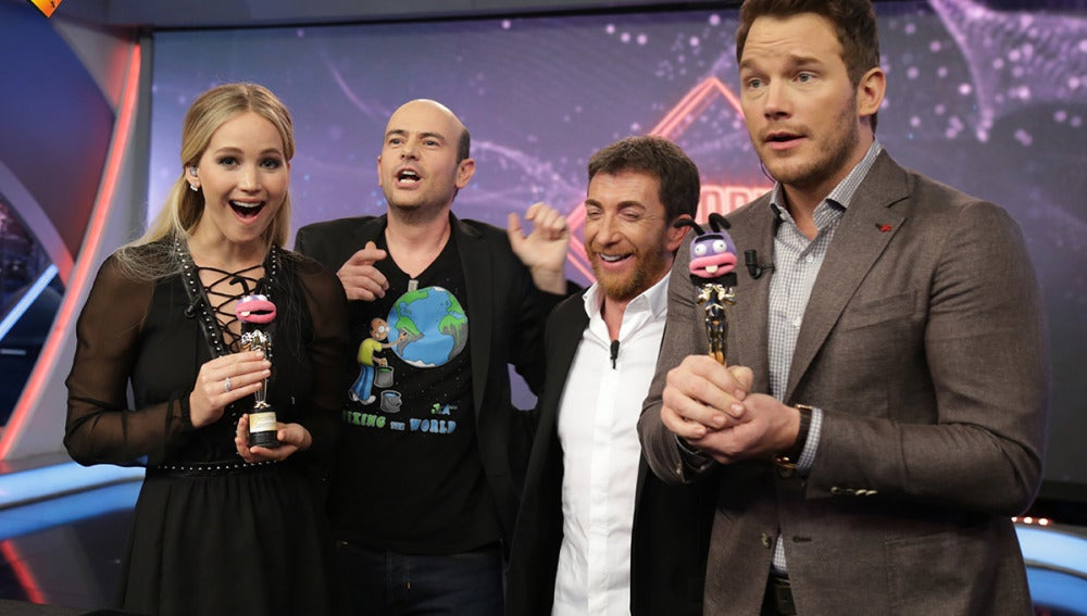Jandro vaticina quién ganará el Oscar, Jennifer Lawrence o Chris Pratt