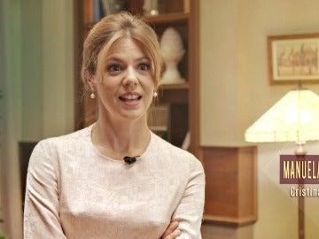 """Manuela Velasco: """"La escena más dura para mí fue el reencuentro de Cristina con Alberto en el aeropuerto"""""""