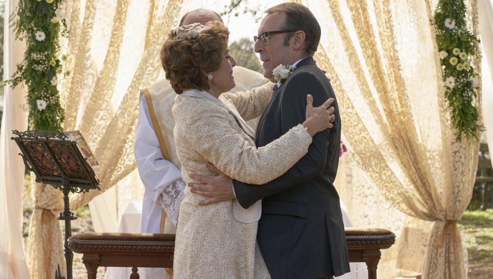 Benigna y Benito, una boda repleta de sucesos inolvidables