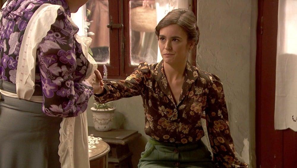 Los mimos de Dolores para que Gracia se quede embarazada