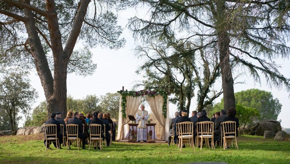 Así de bonitas eran las vistas durante la boda