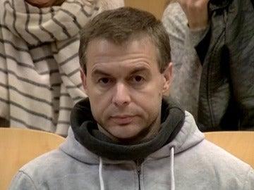 Antonio Ángel Ortiz durante su juicio