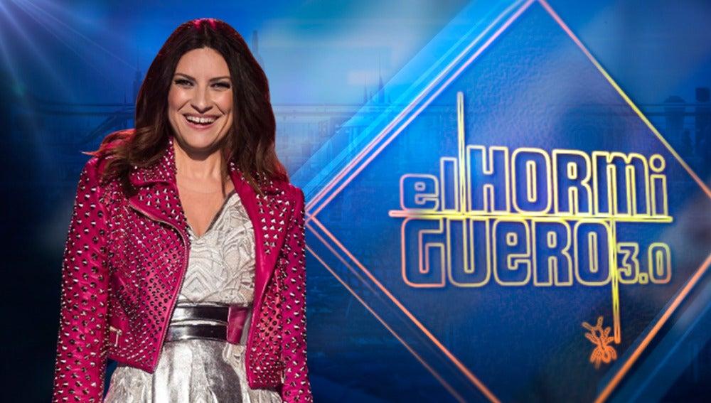 La cantante Laura Pausini despide el año en 'El Hormiguero 3.0'
