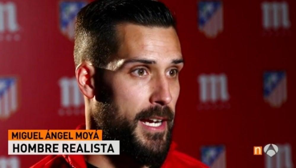 Miguel Ángel Moyá, portero del Atlético de Madrid
