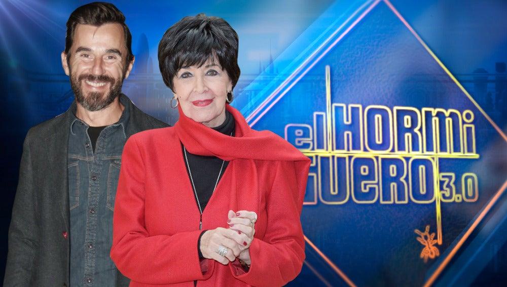 Los actores Concha Velasco y Santi Millán se divertirán en 'El Hormiguero 3.0'