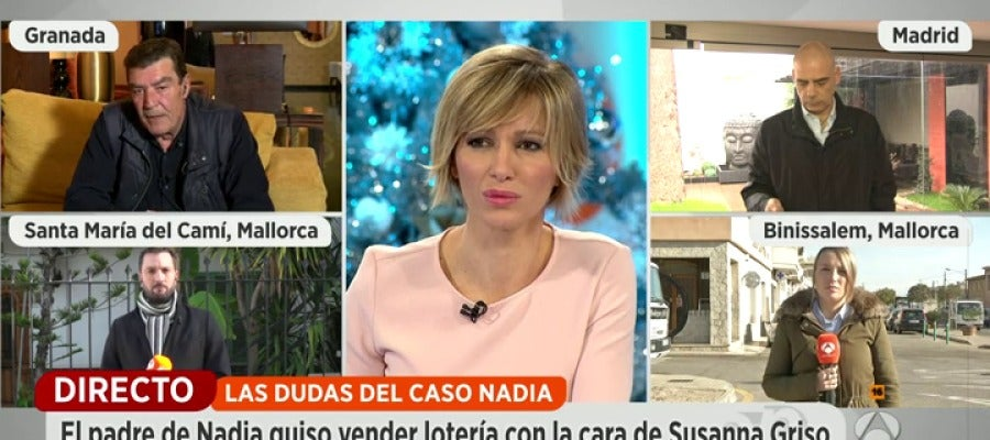 Antena 3 tv susanna griso se plantea personarse como for Ver espejo publico hoy