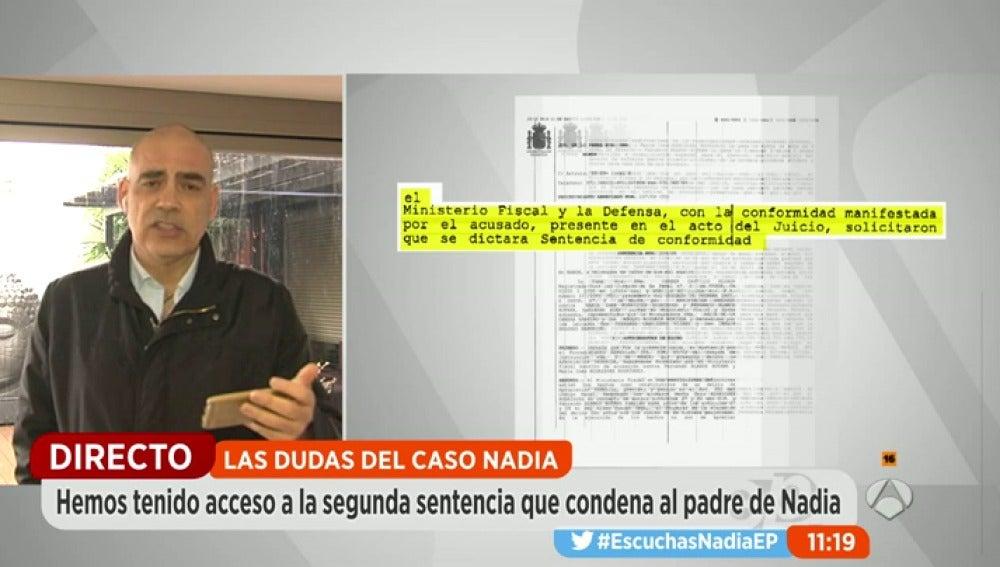 Frame 180.923451 de: El padre de Nadia estafó a la empresa de bebidas en la que trabajaba con la ayuda de una expareja