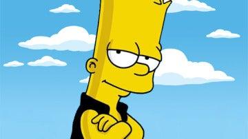 Bart Simpson escribe un especial mensaje sobre 'Velvet' en su pizarra