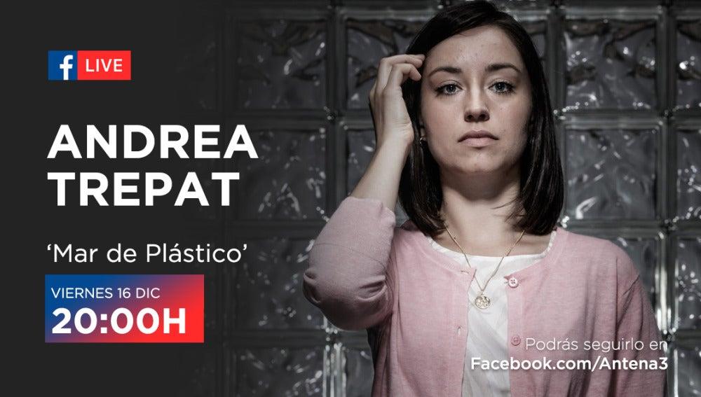 Facebook Live de Andrea Trepat